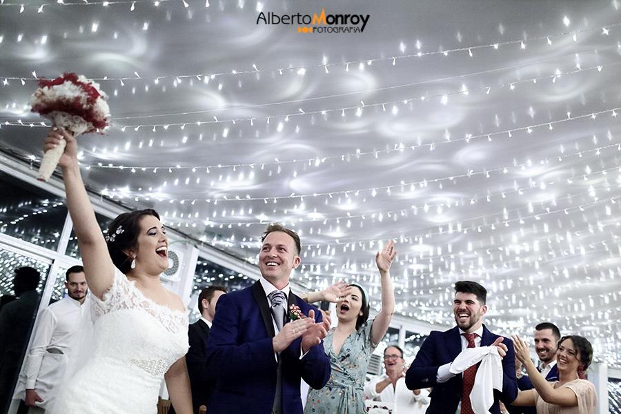 fotografo de boda en el puerto de Santa Mª